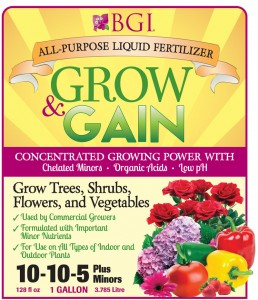 Grow &amp; Gain All Purpose Liquid Fertilizer