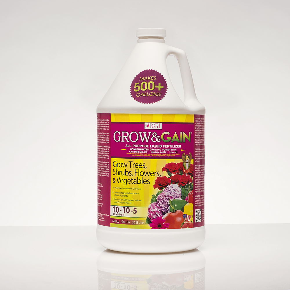 Grow Gain 1 Gallon All Purpose Liquid Plant Food Concentrated