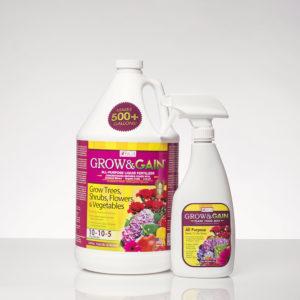 Grow & Gain® | Indoor/Outdoor Plants Liquid Fertilizer